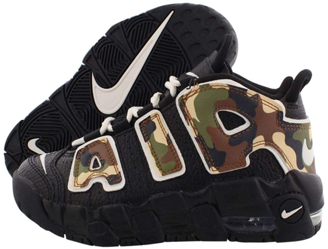 B07YLCHCCS Nike Air More Uptempo Qs Boys Shoes