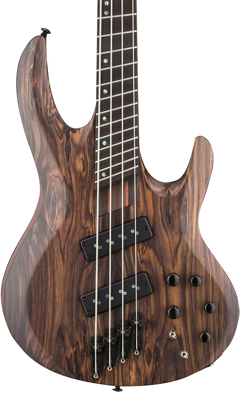 B01D53L660 ESP LTD B-1004SE Multi-Scale Electric Bass Guitar, Natural Satin