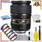 Tamron SP 90mm f/2.8 Di Macro Autofocus Lens for Nikon (International Model) + Vivitar Graduated Color Filter Set + Clea