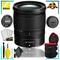 Nikon NIKKOR Z 24-70mm f.4 S Lens (Intl Model) + 4.5 inch Vivitar Premium Lens Case + Cleaning Kit