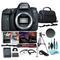 Canon EOS 6D Mark II DSLR Camera (Body Only), 26.2MP Full-Frame CMOS Sensor, DIGIC 7 Image Processor w/ 7 Piece Accessories