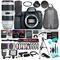 Canon EOS 6D Mark II DSLR Camera (Body Only), 26.2MP Full-Frame CMOS Sensor w/ 19 Piece Accessories