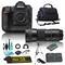 Nikon D5 DSLR Camera & 150-600mm f/5-6.3 DG OS HSM Contemporary Lens for Nikon F Bundle + 4 Piece Accessories
