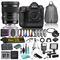 Nikon D5 DSLR Camera & 50mm f/1.4 DG HSM Art Lens for Nikon F Combo Bundle w/ 15 Piece Accessories