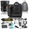 Nikon D5 20.8MP DSLR 4K UHD Camera & 50mm f/1.4 DG HSM Art Lens for Nikon F Bundle w/ additional 7 Piece Accessories