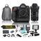 Nikon D5 20.8MP DSLR 4K UHD Camera & 18-35mm f/1.8 DC HSM Art Lens for Nikon F Bundle w/ additional 7 Piece Accessories