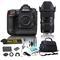 Nikon D5 DSLR Camera & 18-35mm f/1.8 DC HSM Art Lens for Nikon F Bundle + 4 Piece Accessories