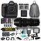 Nikon D5 DSLR Camera & 70-200mm f/2.8 DG OS HSM Sports Lens for Nikon F Combo Bundle w/ 12 Piece Accessories