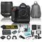 Nikon D5 20.8MP Dual XQD Slots 4k DSLR Camera & AF-S DX NIKKOR 18-105mm f/3.5-5.6G ED VR Lens includes - 9 Piece Accessories