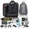 Nikon D5 20.8MP Dual XQD Slots 4k DSLR Camera (No Lens) Bundle includes 9 Additional Piece Accessories
