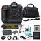 Nikon D5 DSLR 4K Ultra HD at 30 FPS Camera Bundle - Includes 6 Piece Accessories (No Lens, Dual XQD Slots)