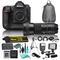 Nikon D5 20.8MP Dual XQD Slots 4k DSLR Camera & 150-600mm f/5-6.3 DG OS HSM Contemporary Lens for Nikon F Bundle includes