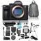 Sony Alpha a7R III 4K UHD Mirrorless Digital Camera (No Lens) Bundle - Includes 8 Compatible Accessories