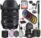Sigma 24-70mm f/2.8 DG OS HSM Art Lens for Nikon F with Bundle Includes: Sandisk 64gb SD Card, 9PC Filter Kit + More