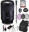 Tamron 28-75mm f/2.8 Di III RXD Lens for Sony E (A036) Essential Bundle Kit - International Model No Warranty