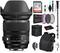 Sigma 24-105mm f/4 DG OS HSM Art Lens for Nikon F with Advance Bundle: Backpack + Sandisk 64gb SD+ More