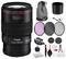Canon EF 100mm f/2.8L Macro IS USM Lens (3554B002) Bundle Includes: 3PC Filter Kit, Pro Camera Hand Strap + More