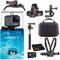 GoPro HERO7 Silver Waterproof Digital Action Camera Bundle + 64GB microSD Card
