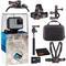 GoPro HERO7 White Waterproof Digital Action Camera Bundle + 64GB microSD Card