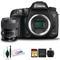 Canon EOS 7D Mark II DSLR Camera with Sigma 35mm f/1.4 DG HSM Art Lens, Lens Cleaning Kit, 32GB Memory Kit, (Intl Model)