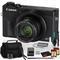 Canon PowerShot G7 X Mark III Digital Camera (Intl Model) with Two 128GB SD