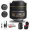 Nikon AF DX Fisheye-NIKKOR 10.5mm f/2.8G ED Lens (INTL Model) with Padded Case