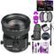 Canon TS-E 45mm f/2.8 Tilt-Shift Lens with BONUS Bundle | Memory | Backpack | Monopod | Cleaning Kit | Intl Model