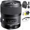 Sigma 35mm f/1.4 DG HSM Art Lens for Canon + Deluxe Lens Cleaning Kit