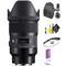 Sigma 35mm f/1.4 DG HSM Art Lens for Sony E + Deluxe Lens Cleaning Kit