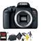 Canon EOS Rebel T7i DSLR Camera (Body Only) + 64GB Memory Card + Mega Accessory Kit + 1 Year Warranty
