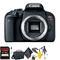 Canon EOS Rebel T7i DSLR Camera (Body Only) + 64GB Memory Card + Mega Accessory Kit + 2 Year Accidental Warranty