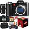 Leica SL (Typ 601) Mirrorless Digital Camera with Summilux-SL 50mm f/1.4 ASPH Lens 128GB Memory Card Bundle