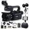 Canon XA40 Professional UHD 4K Camcorder W/ Extra Battery - Starter Bundle
