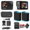 GoPro HERO9 Black - Waterproof Action Camera + 64GB Card and Extra HERO9 Battery