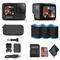 GoPro HERO9 Black - Waterproof Action Camera + 64GB Card and 2 Extra HERO9 Batteries