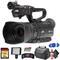 JVC GY-HM180 Ultra HD 4K Camcorder with HD-SDI (GY-HM180U) With Base Bundle