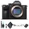 Sony Alpha a7R III Mirrorless Camera ILCE7RM3/B Starter Kit