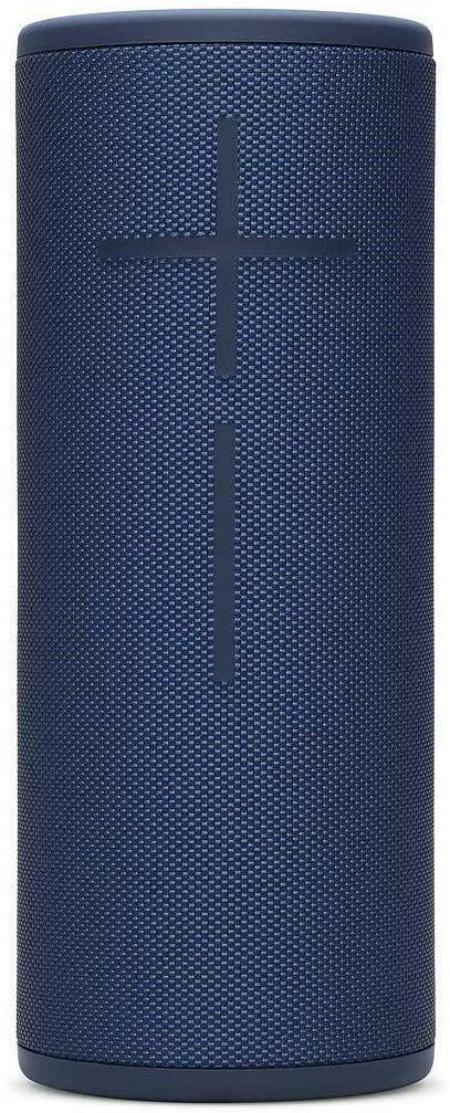 B08M92FCMD Ultimate Ears Boom 3 Portable Waterproof Bluetooth Speaker - Denim Blue (Renewed)