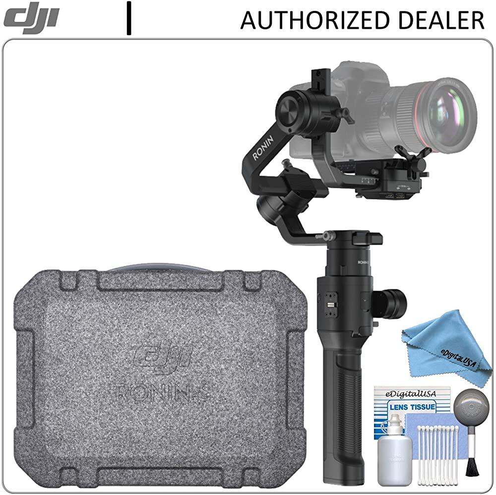 B07FTLXD2F DJI Ronin-S Full Size Gimbal Stabilizer + eDigitalUSA Maintenance Kit