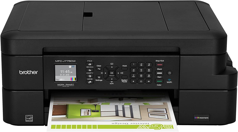 B0797DNGZR Brother Inkjet Printer, MFC-J775DW, Amazon Dash Replenishment Ready