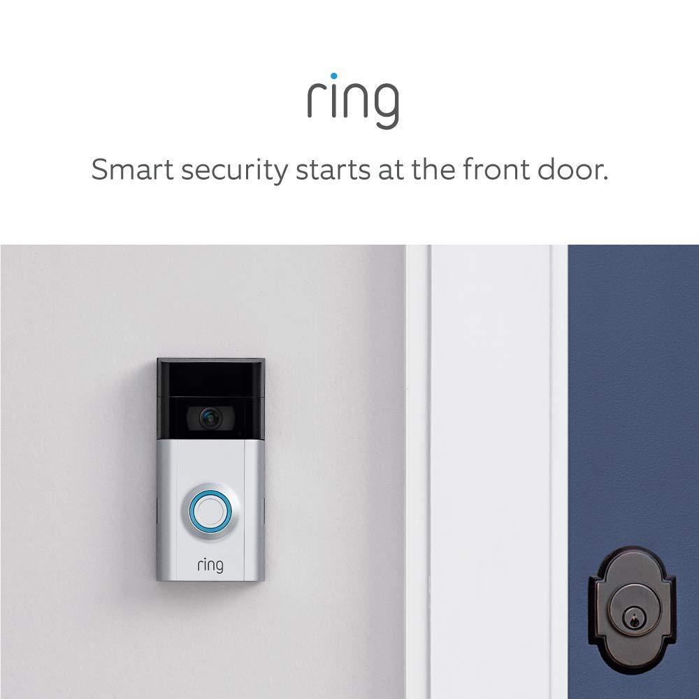 B07GTHT6QP Certified Refurbished Ring Video Doorbell 2